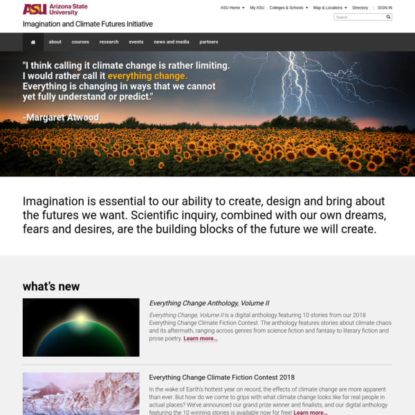 Imagination and Climate Futures Initiative