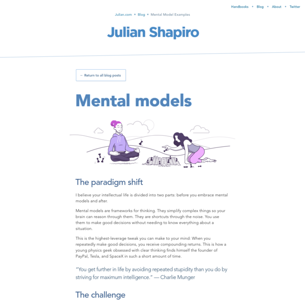 Mental Model Examples: How to actually use them
