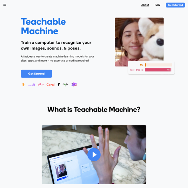 Teachable Machine