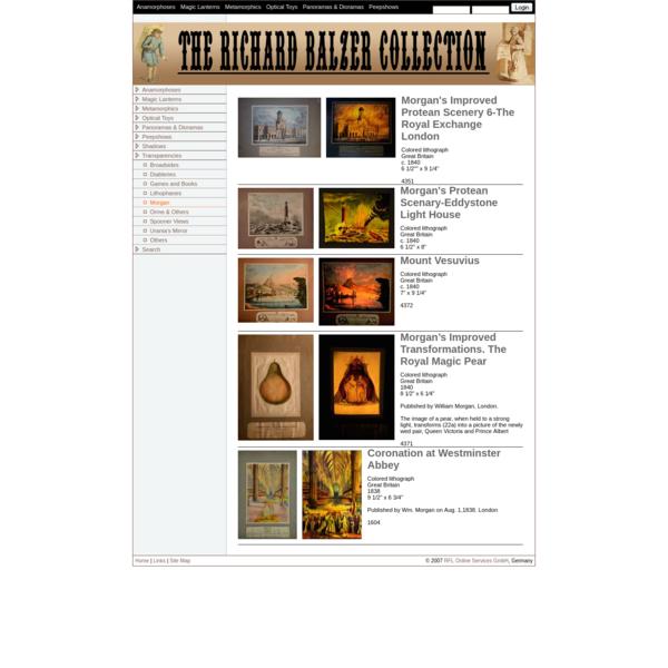 Dick Balzer's Website: Morgan