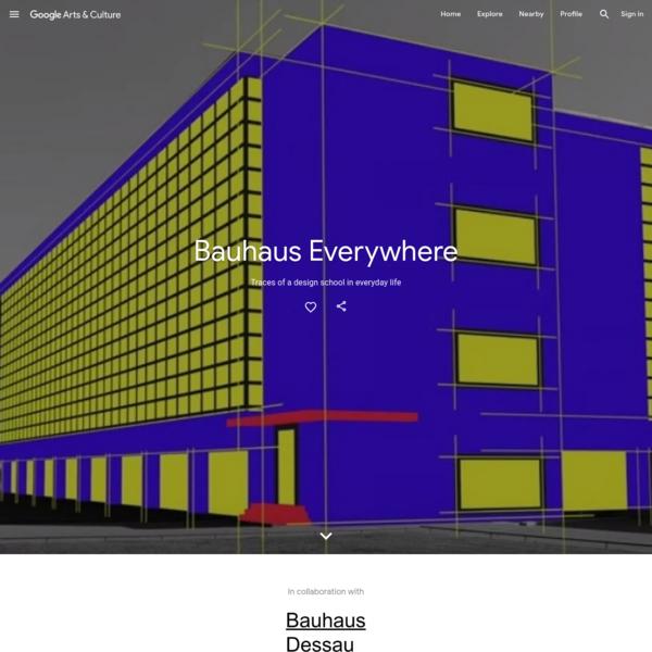 Bauhaus Everywhere - Google Arts & Culture