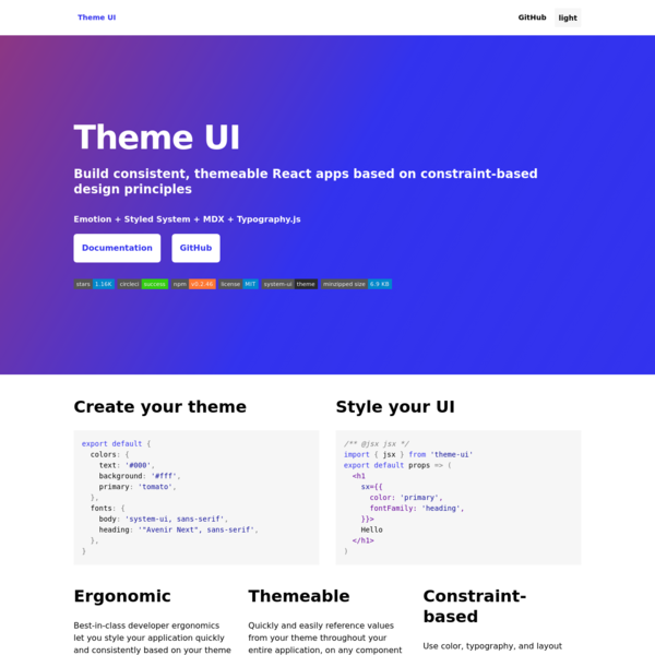 Theme UI
