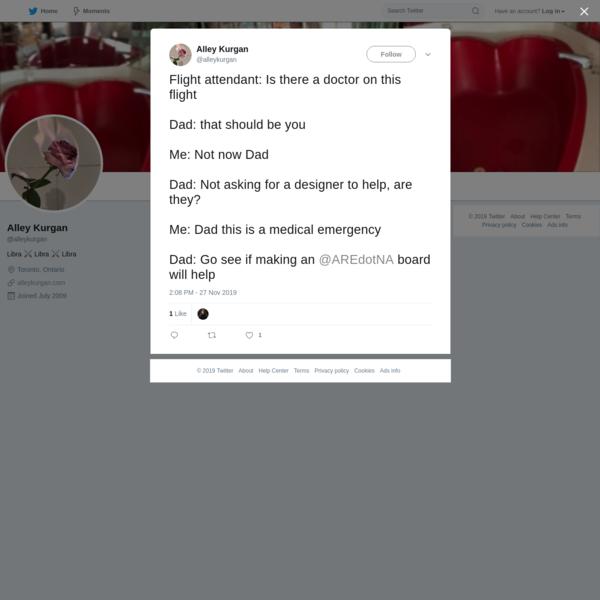 Alley Kurgan on Twitter