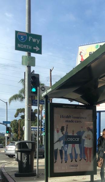 OSCAR Bus Ad - Los Angeles