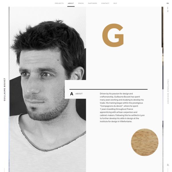 Guillaume Bouvet - Artisan Menuisier, Designer