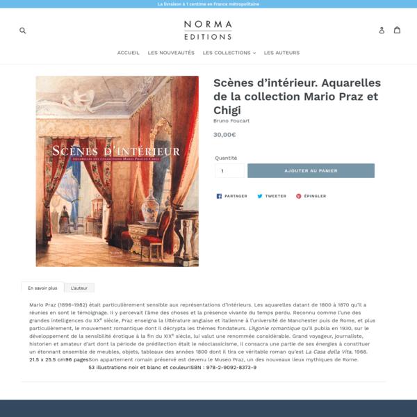 Scènes d'intérieur. Aquarelles de la collection Mario Praz et Chigi