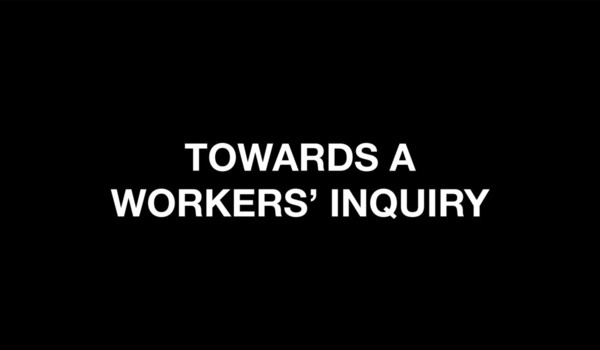 Towards a Workers' Inquiry for Falmouth University