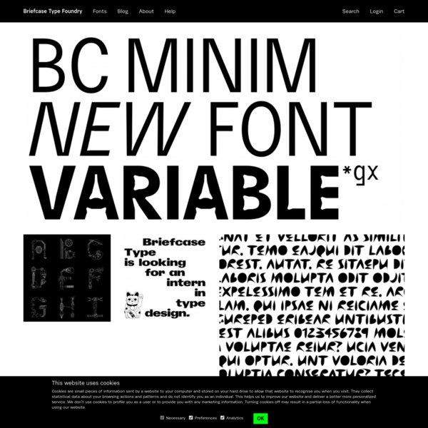 Briefcase Type Foundry