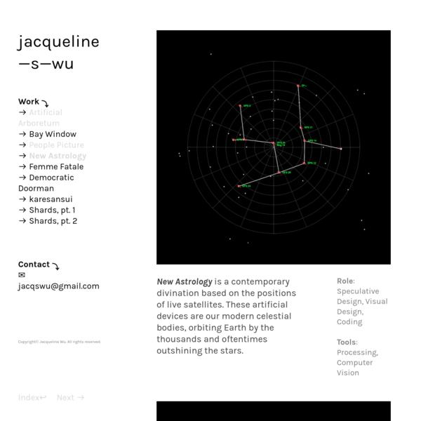 New Astrology - Jacqueline Wu