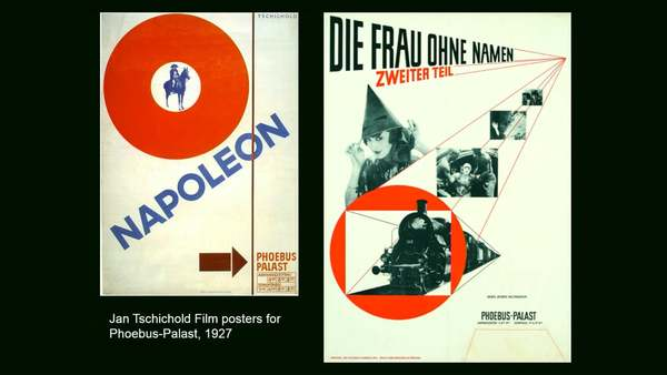 The New Typography: Avant Garde Design in Weimar Germany with Paul Stirton