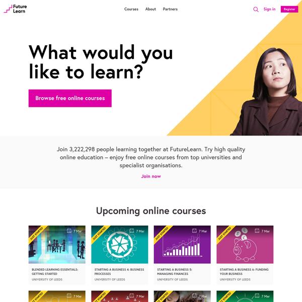 Free Online Courses - FutureLearn