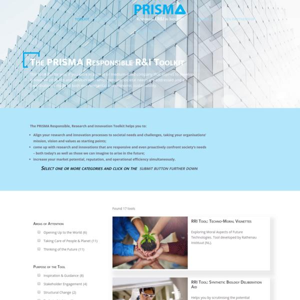 RRI Toolkit - PRISMA