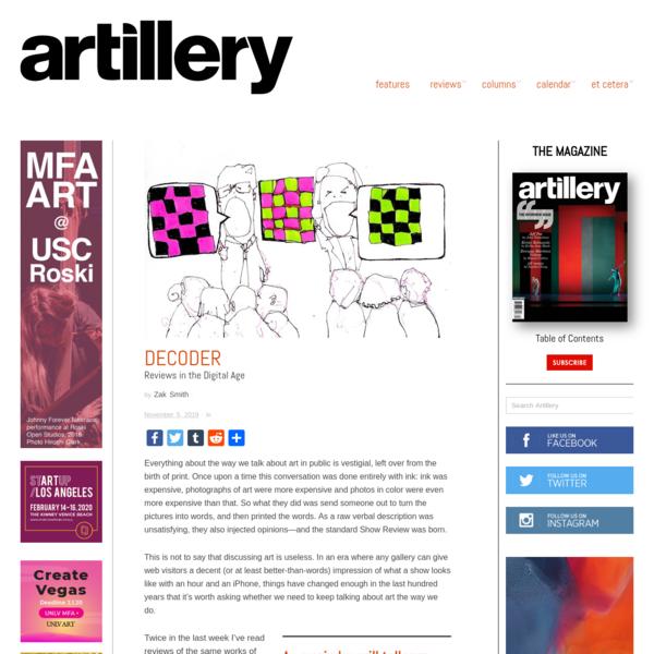 Decoder - Artillery Magazine