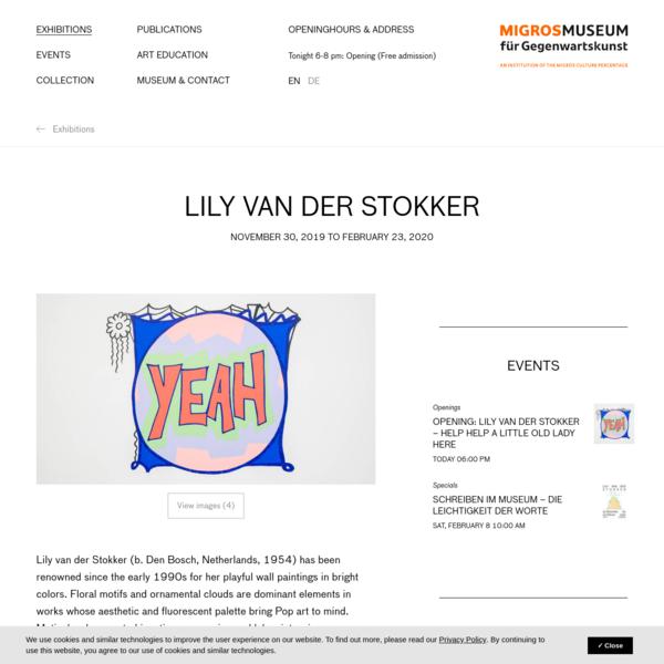 Lily van der Stokker