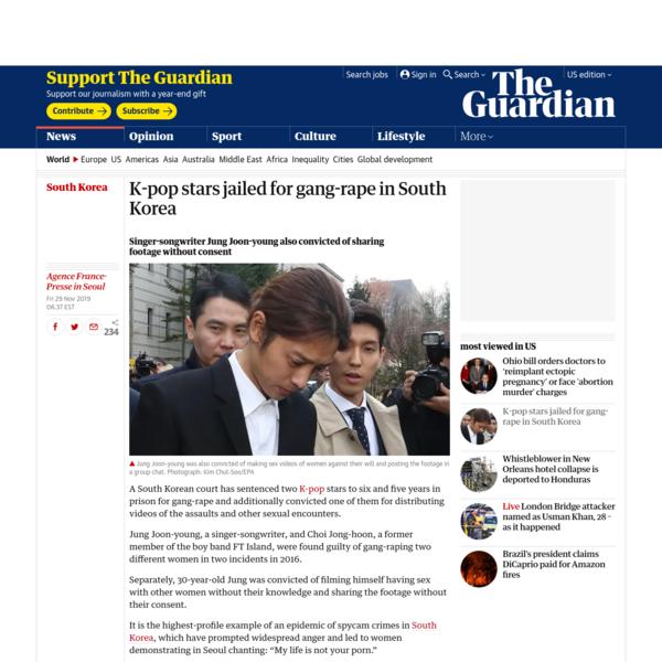 K-pop stars jailed for 'quasi-rape' of woman