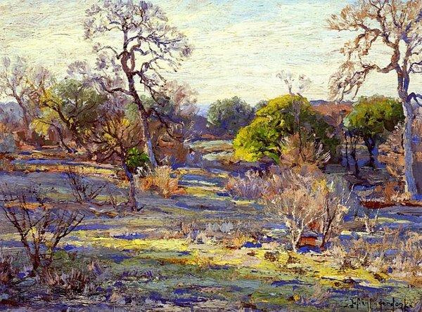Late Afternoon, Alamo Heights, San Antonio, Texas - 1922