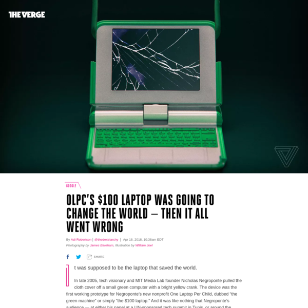 OLPC's $100 laptop was going to change the world - then it all went wrong