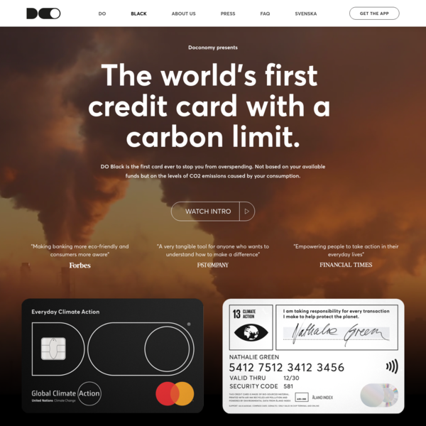 Doconomy - Everyday Climate Action