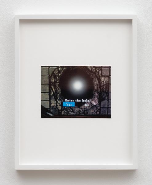 Damon Zucconi, Enter the Hole, 2019