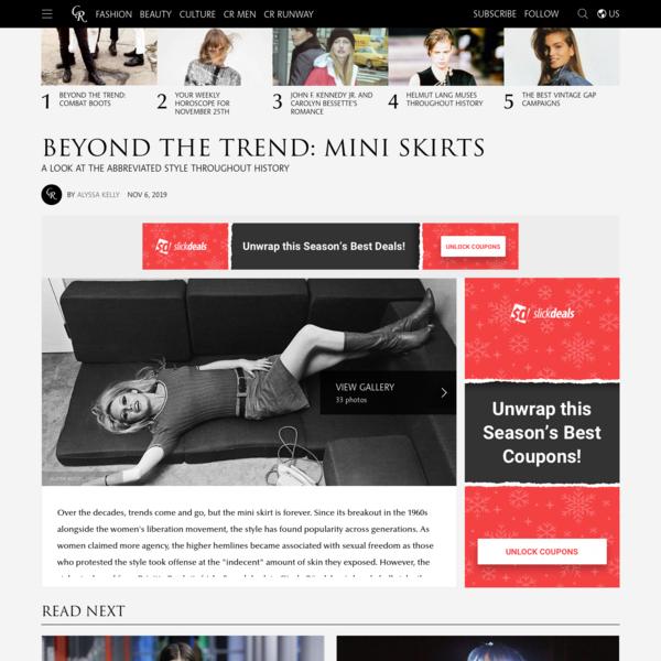 Beyond the Trend: Mini Skirts