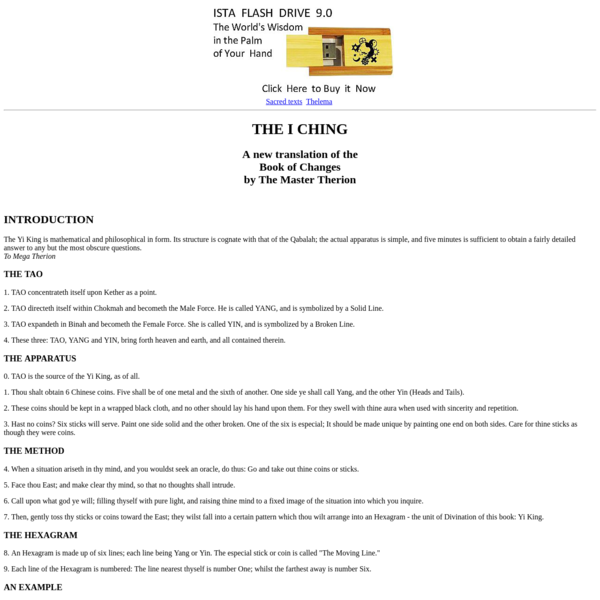 Liber 216 The I Ching