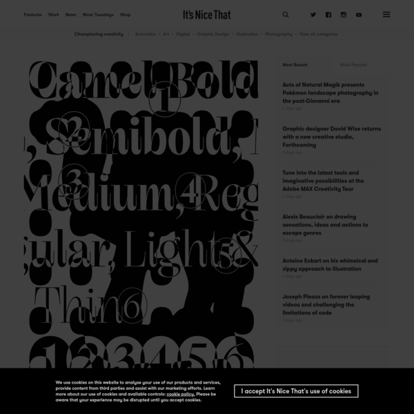 A campaigner for the unconventional, Kia Tasbihgou discusses his latest typefaces