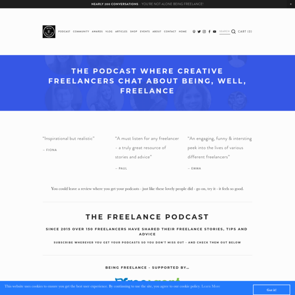 Being Freelance Podcast - Being Freelance with Steve Folland