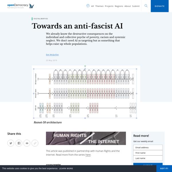 Towards an anti-fascist AI