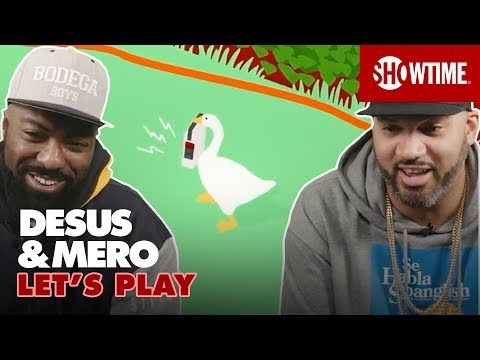 Untitled Goose Game on Nintendo Switch | Let's Play | DESUS & MERO