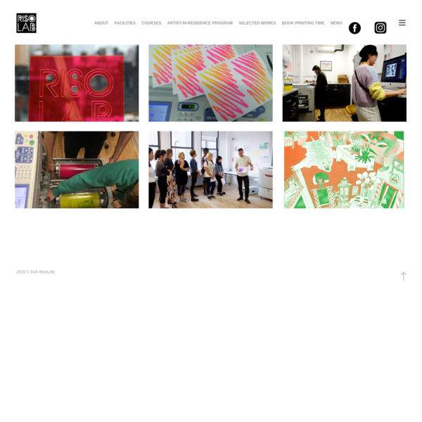 RisoLAB | School of Visual Arts
