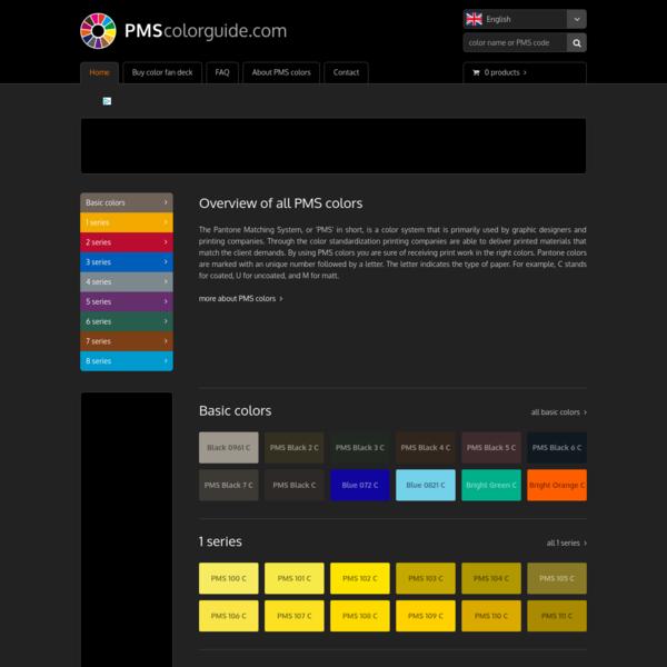 All PMS colors + buy PMS color fan deck   PMScolorguide.com