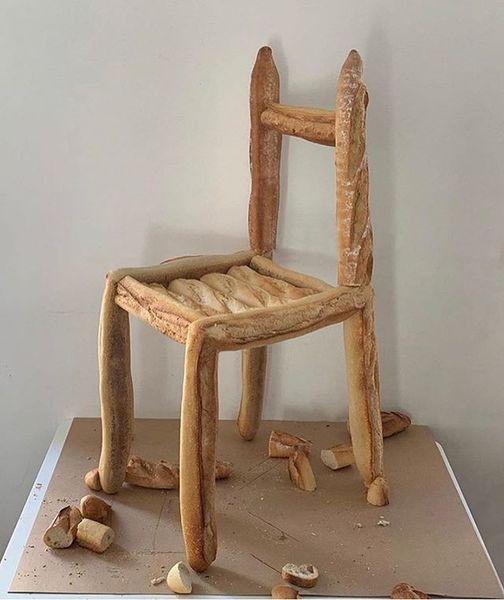 🥖🪑 by @farine_furniture via @dellostudio :-)