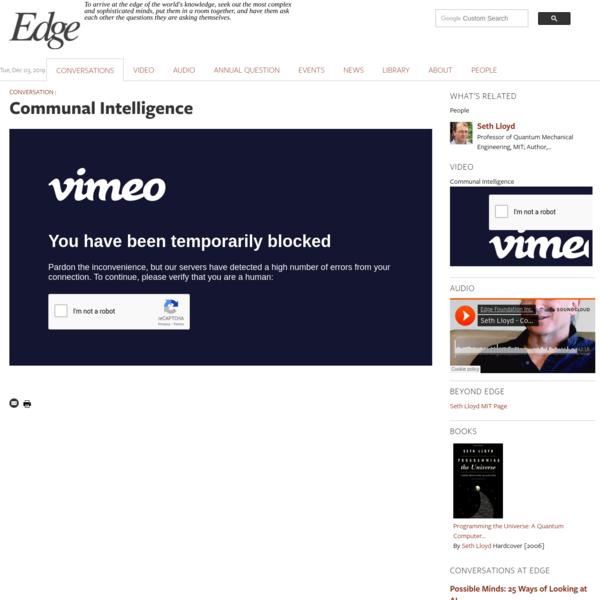 Communal Intelligence