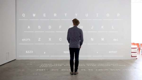 Performing Thought - Interactive Installation