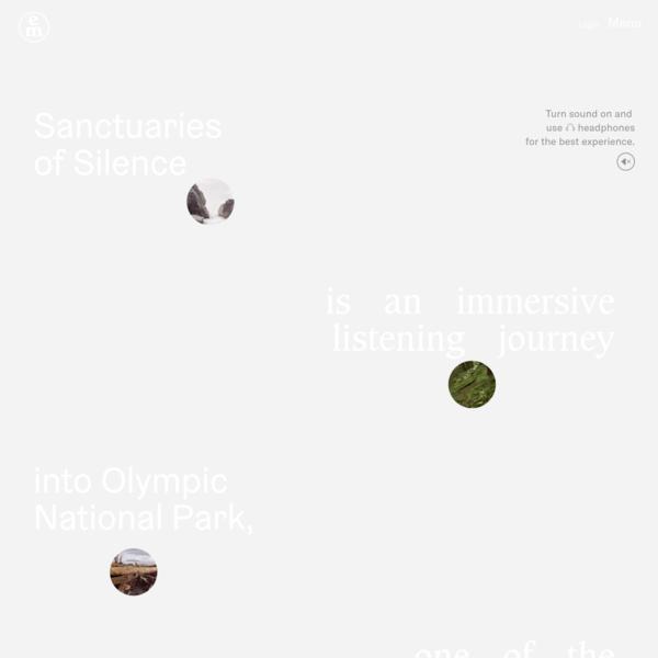 Sanctuaries of Silence - Emergence Magazine