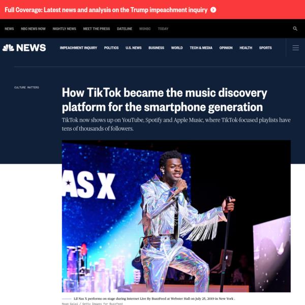 How TikTok became the music discovery platform for the smartphone generation