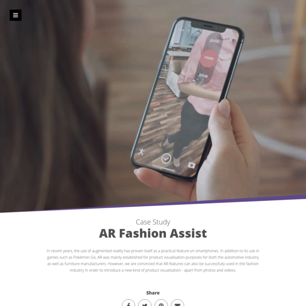 AR Fashion Assist