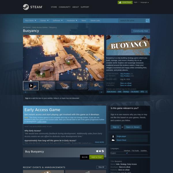 Buoyancy on Steam