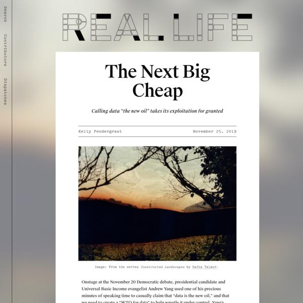 The Next Big Cheap - Real Life