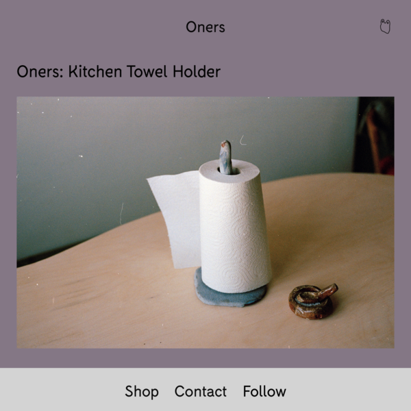 Kitchen Towel holder - Oners