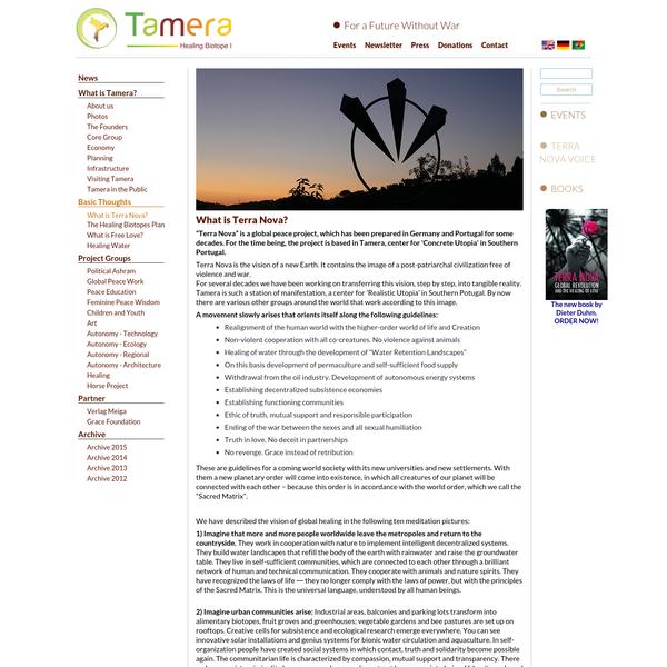What is Terra Nova?