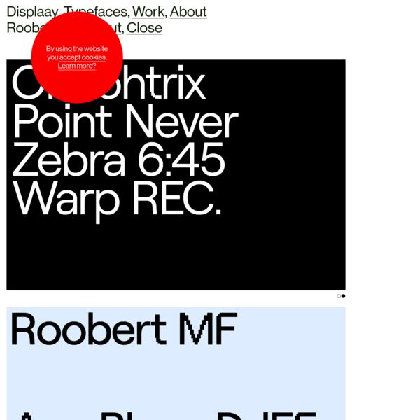 Roobert MF - Displaay Type Foundry