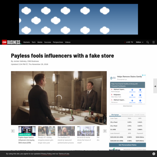 Payless fools influencers with a fake store