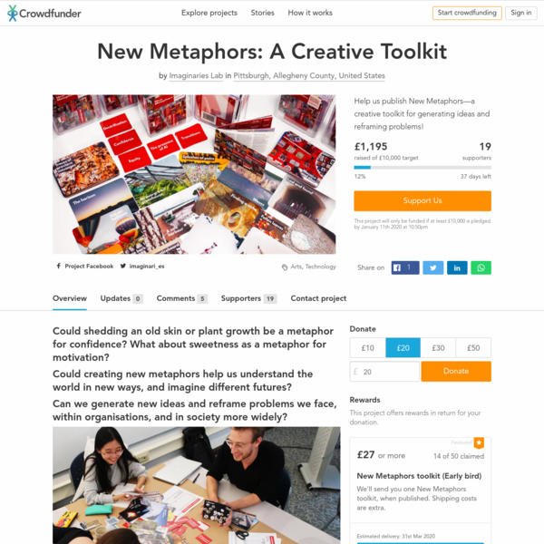 New Metaphors: A Creative Toolkit