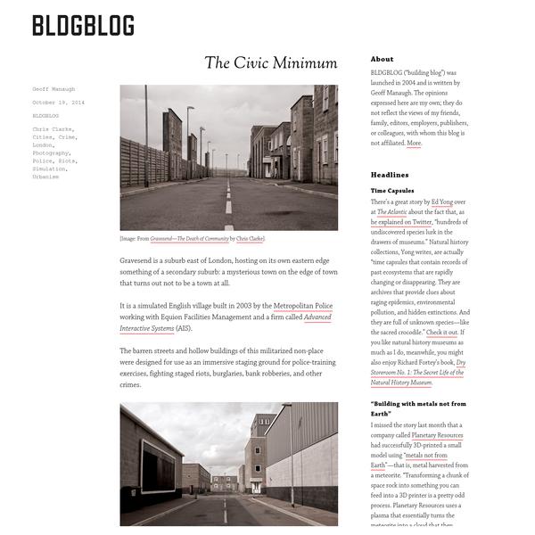 The Civic Minimum