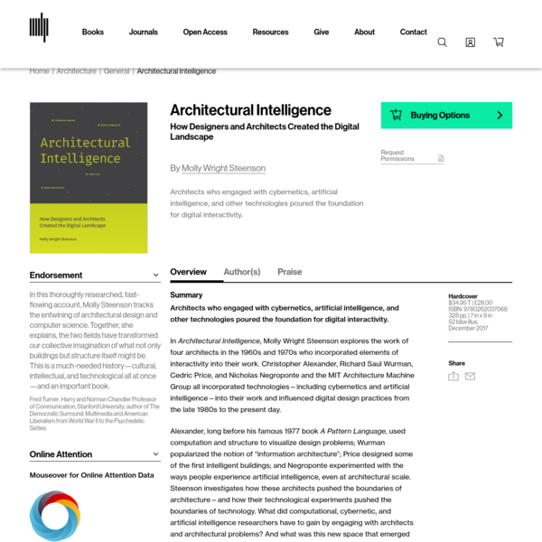 Architectural Intelligence