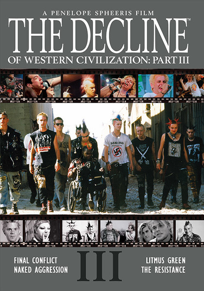 Rolling Stone - Variety Penelope Spheeris' THE DECLINE OF WESTERN CIVILIZATION was perceived as shocking and outrageous at the time of its original release in 1981 and its two follow-up films were no less extraordinary and revealing. Today, museums and educational institutions around the world present them as a historically significant works of art.