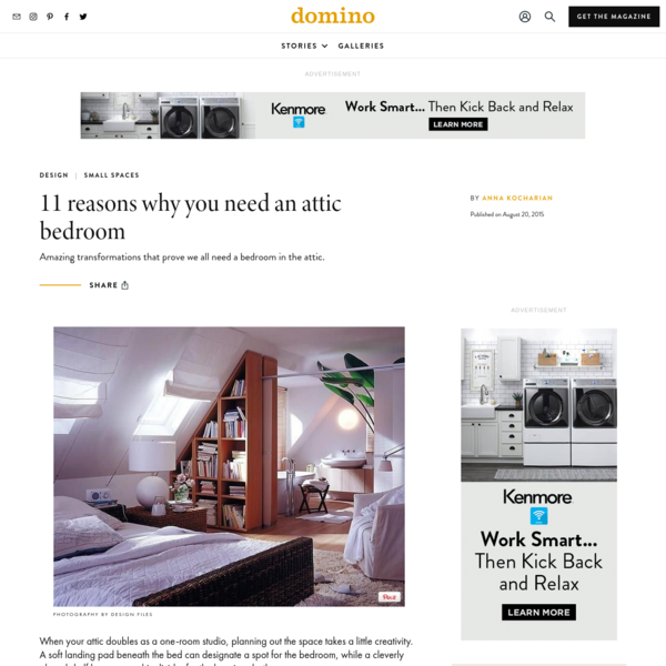 11 Converted Attic Bedrooms | Domino
