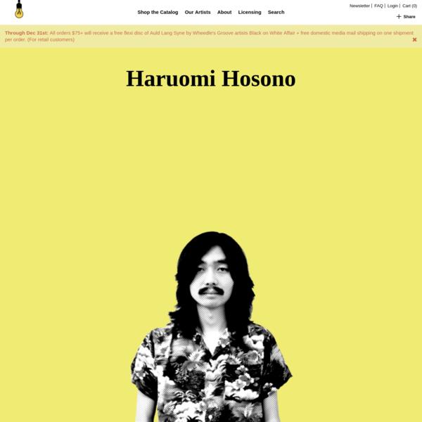 Haruomi Hosono | Light In The Attic Records