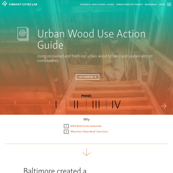 Urban Wood Use Action Guide